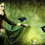 Девушка-старая ведьма